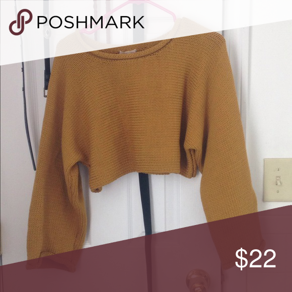 Urban Outfitters Cropped Sweater My Posh Picks Cropped Sweater