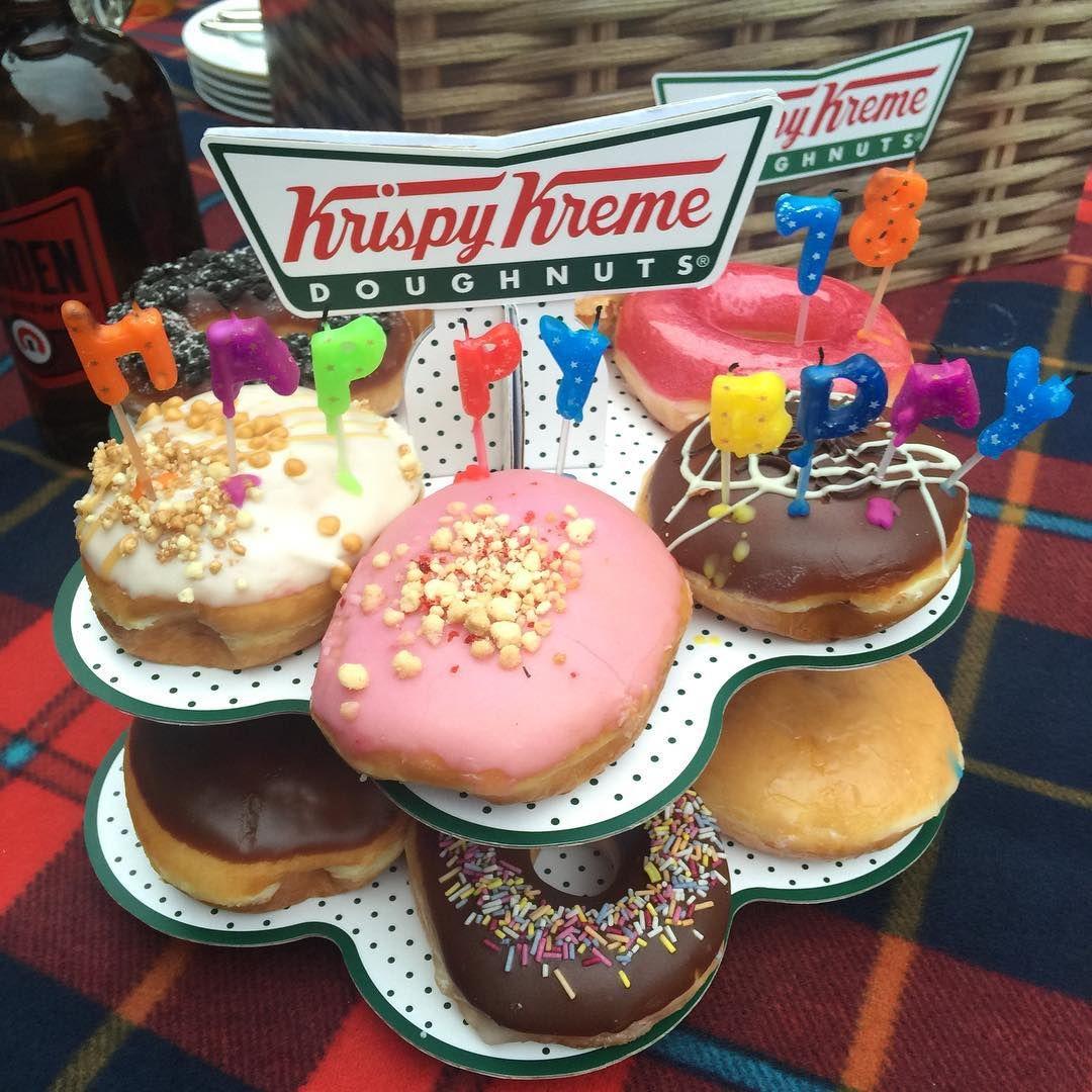 12+ Birthday cake donut krispy kreme ideas in 2021