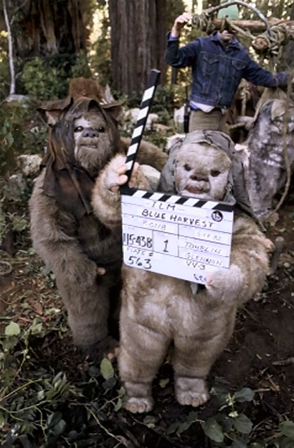 86 Behind-the-Scenes Photos from Star Wars: Episode VI - Imgur