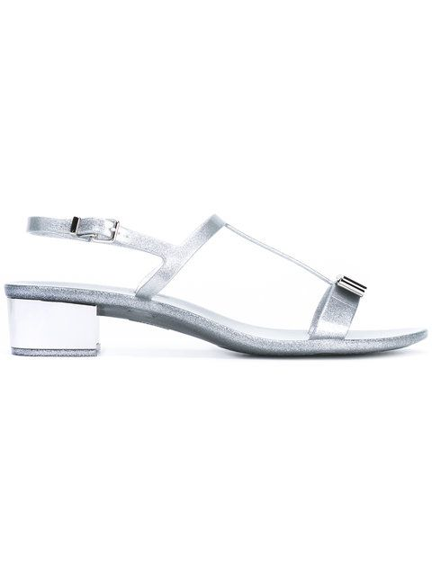 b0531dc59653 SALVATORE FERRAGAMO Glittered Favilia Sandals.  salvatoreferragamo  shoes   sandals