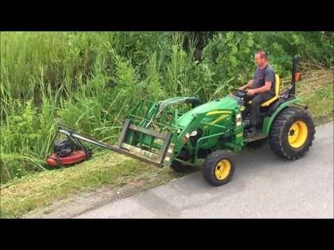 Redneck Ditch Mower - YouTube | tractor in 2019 | Yard tractors