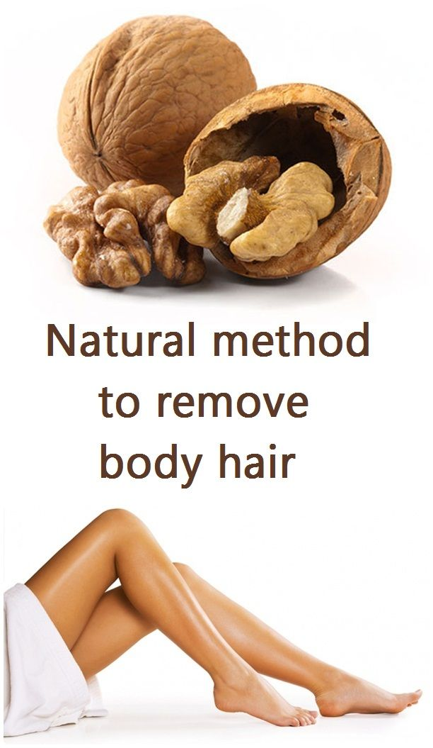 natural-method-to-remove-body-hair | DIY Beauty | Pinterest ...