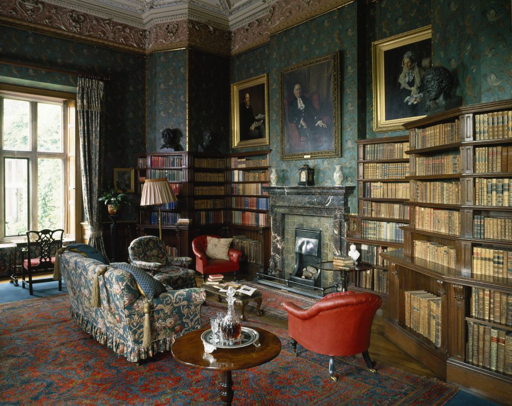 Algernon Wyse Decordesignreview The Library At Dunster