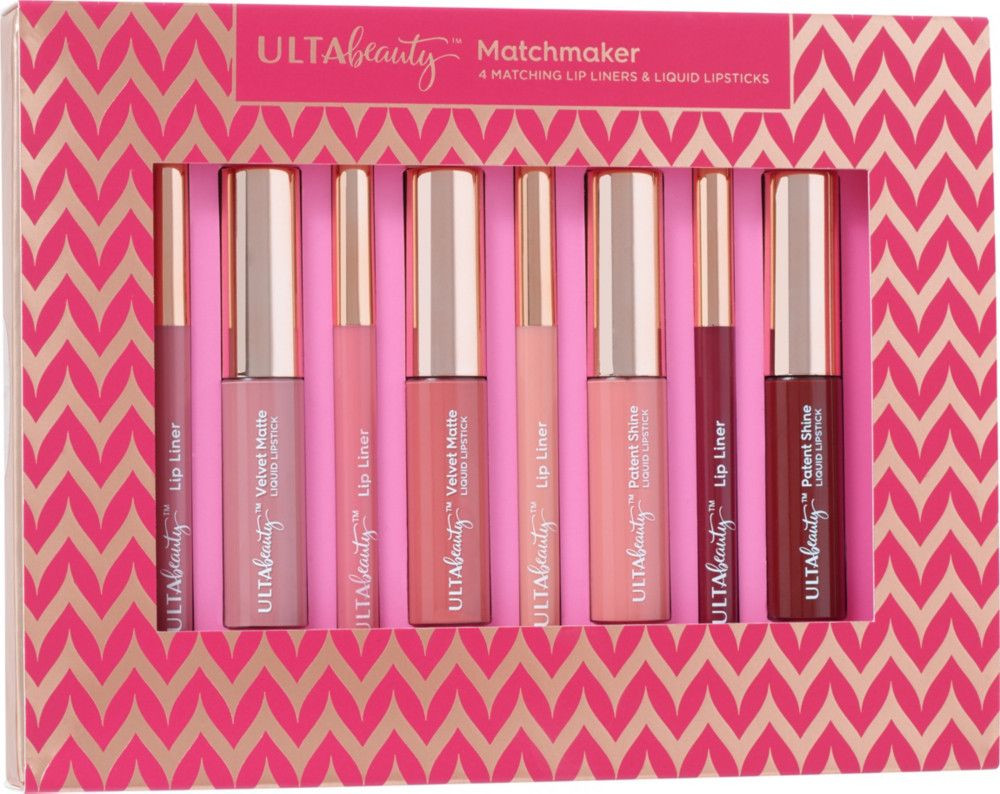 Create lip looks with Ulta's Matchmaker, in two
