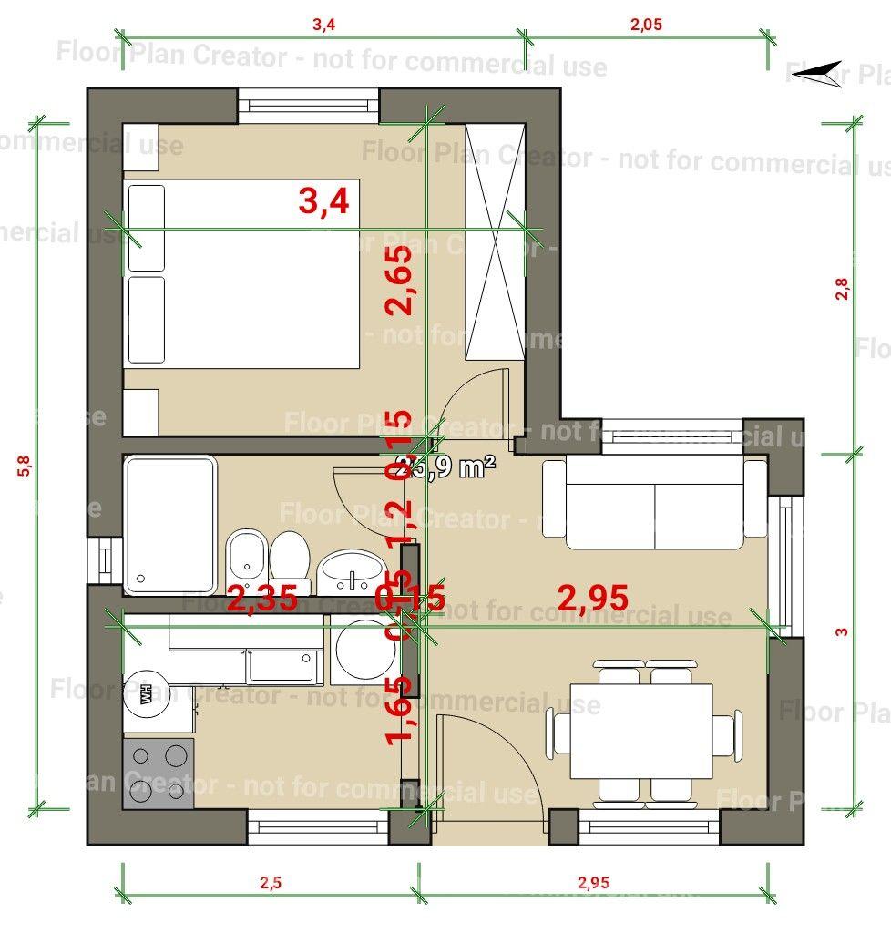 Pin de juliette amaya en arquitectura en 2019 casas for Como disenar un departamento