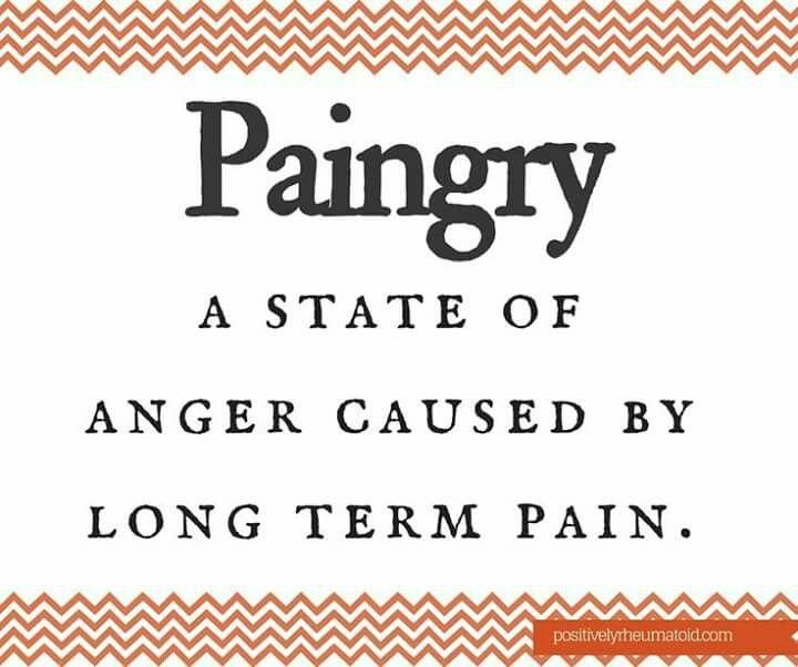 Paingry Life With Chronic Pain Quote Needeyesaymore