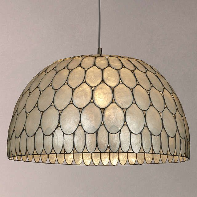 John lewis ampara capiz shell ceiling light whitegrey ceiling john lewis ampara capiz shell ceiling light whitegrey ceiling lights john lewis and ceilings mozeypictures Image collections