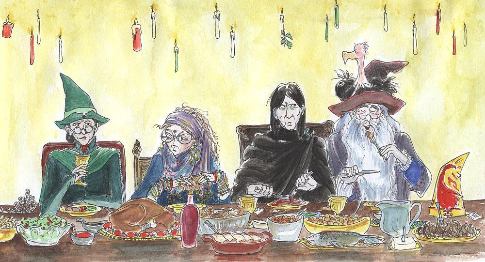 a hogwarts christmas by gerre
