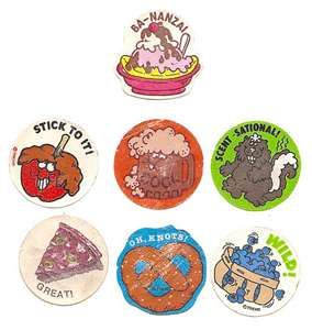 Scratch-n-Sniff Stickers...wouldn't mind some of these right now!!