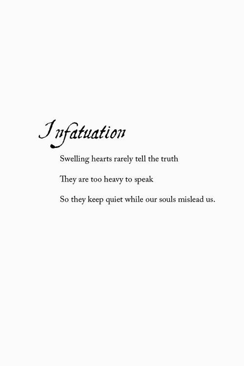 Define infactuation
