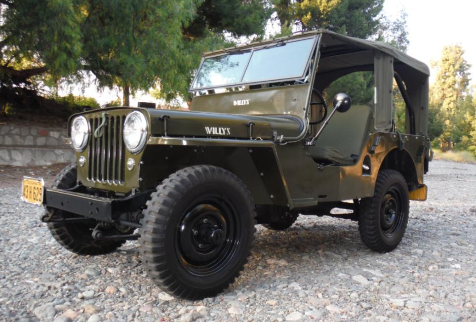 47 Willys Jeep CJ2A ... w/ Go Devil 134 CI 4-banger and 3-sd ...