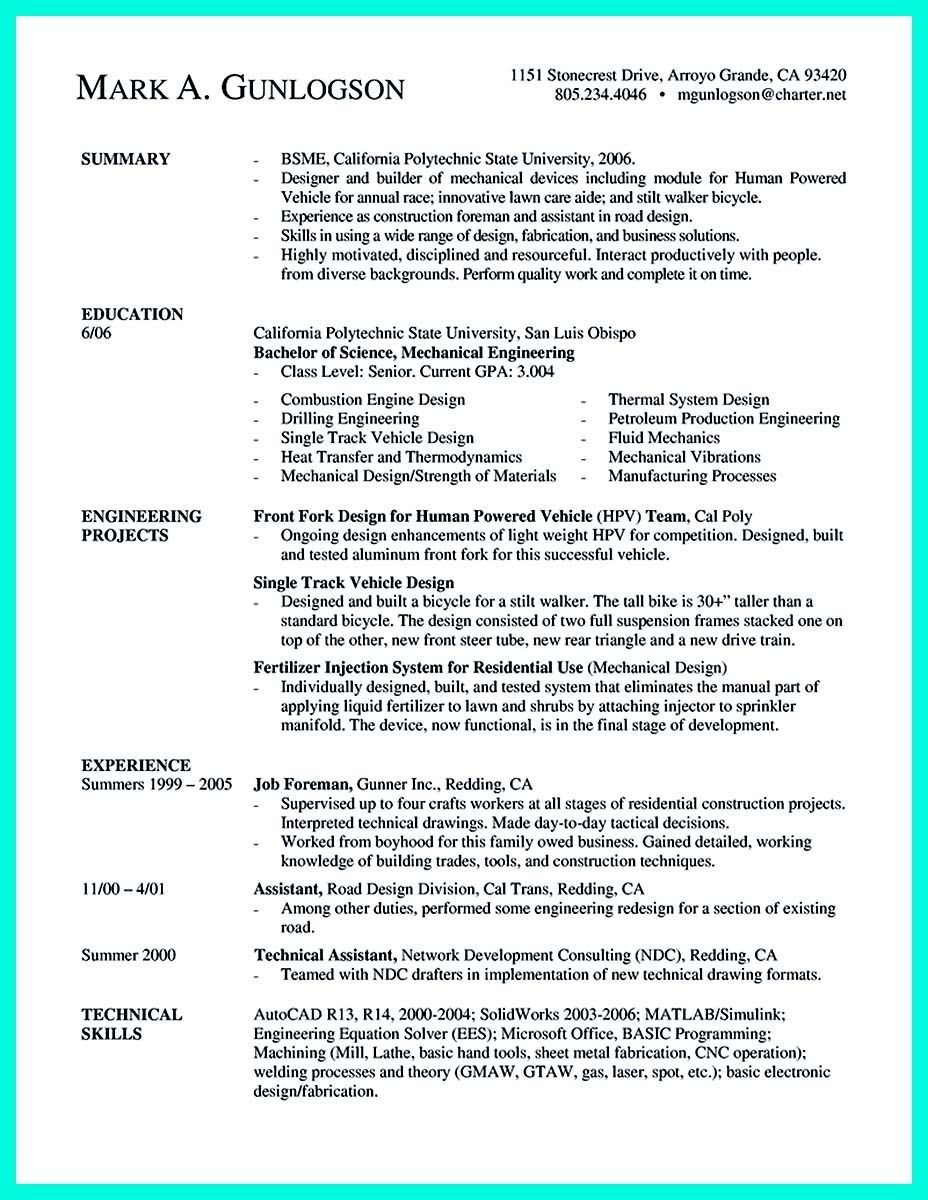 Computer Engineer Resume Cool The Perfect Computer Engineering Resume Sample To Get Job