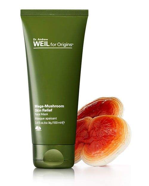 Face Mask || Dr. Andrew Weil for Origins Mega Mushroom Skin Relief- Mask (sensitive skin & rednessfor dry,normal,oily skin)