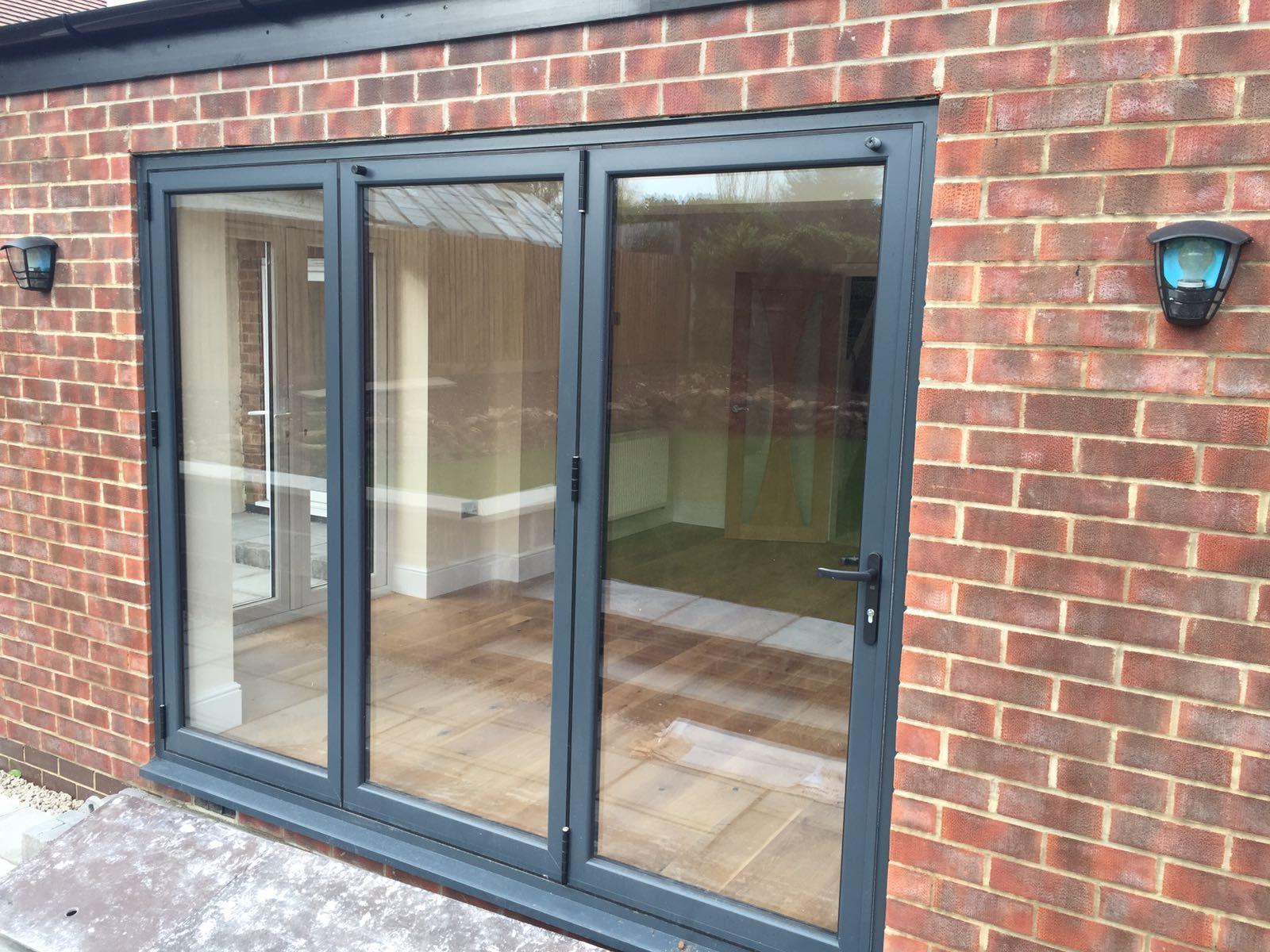 Windows In Nottingham In 2019 Aluminium Bi Folding Doors