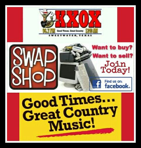 aae56e558 Buy, sell, trade, announce garage sales, auctions, do giveaways! All on  KXOX's Swap Shop week days at 10:30am! Remember NO pet breeders, job  seekers, ...