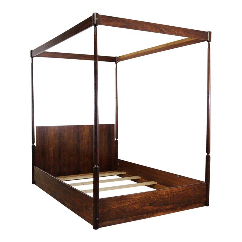 Best Vintage Mid Century Arne Hovmand Olsen Rosewood Canopy 400 x 300