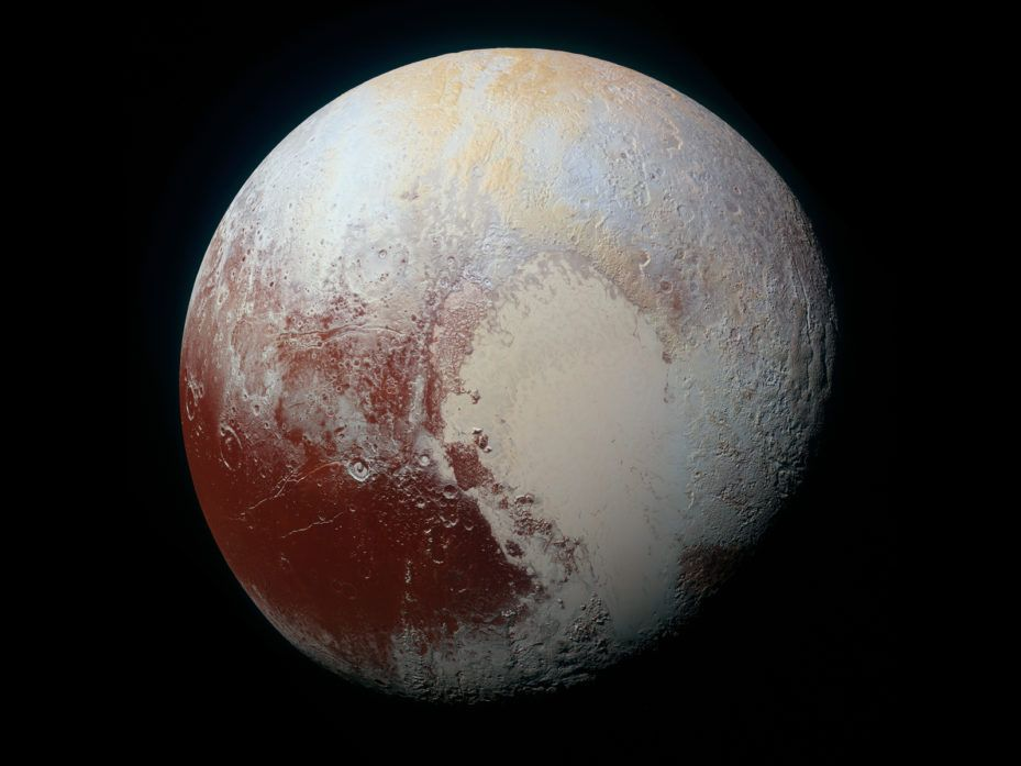 Pluto's cutest geological feature, heart-shaped Sputnik Planitia, may have reoriented the whole planet.