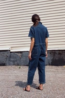 5620867ae367 Sally Singer   Citizens of Humanity   denim jumpsuit   Jean Stories ...