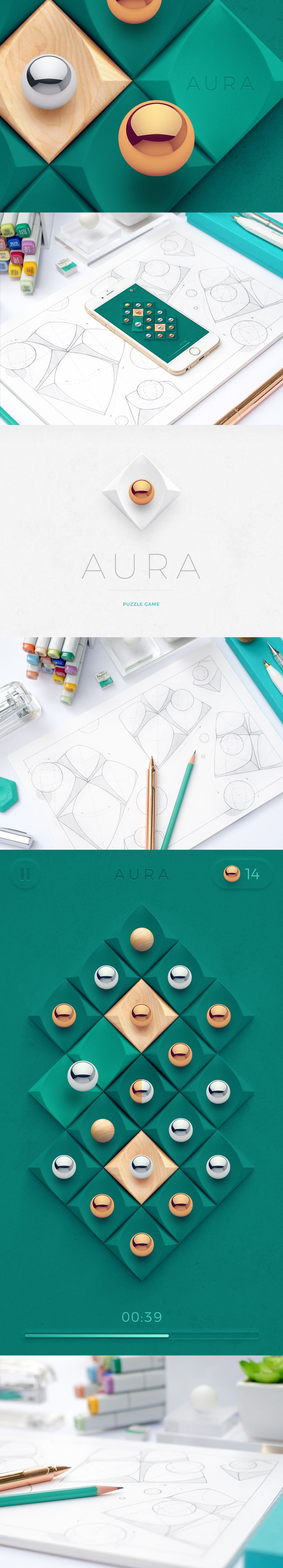iOS Games Part 5 on Behance (With images) Game design