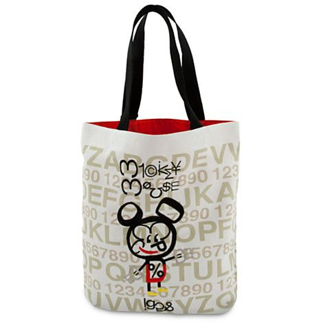 Mickey Mouse Tote Artist Series One Bags Totes Disney