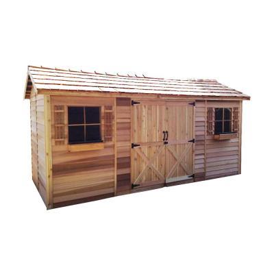 Best Cedarshed Longhouse 16 Ft 10 In X 8 Ft 9 In Western 400 x 300