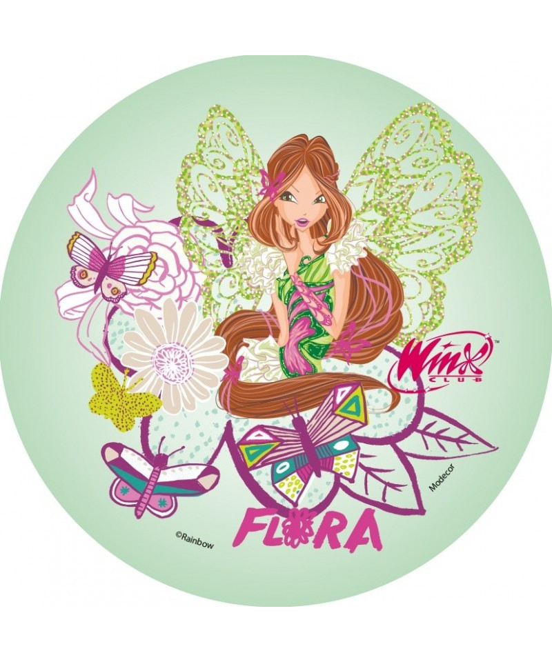 Gateau D Anniversaire Winx Club Lovely Disque Azyme Flora Winx Pour Winx A 3 50 En 2020 Carte Anniversaire Gateau Anniversaire Winx Club