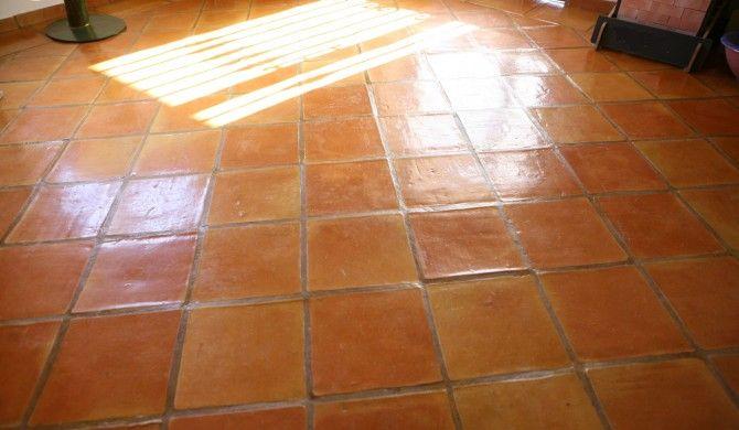 Baldosas cuadradas soleria pinterest baldosa suelos - Suelos de ceramica rusticos ...