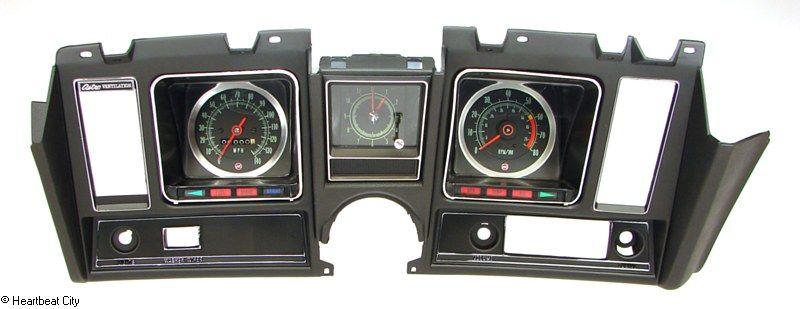 Camaro Dash carrier tach clock 140mph 1969 989.95