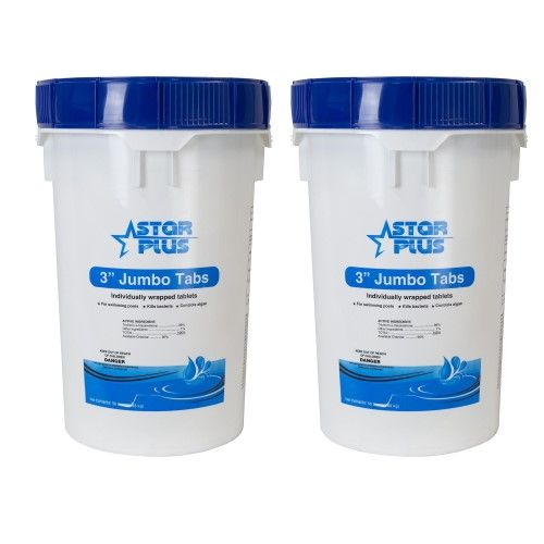 100 Lbs Bucket 3 Swimming Pool Blue Spa Commercial Grade Stabilized Chlorine Tablets Pool Chlorine Pool Chemicals Spa Pool