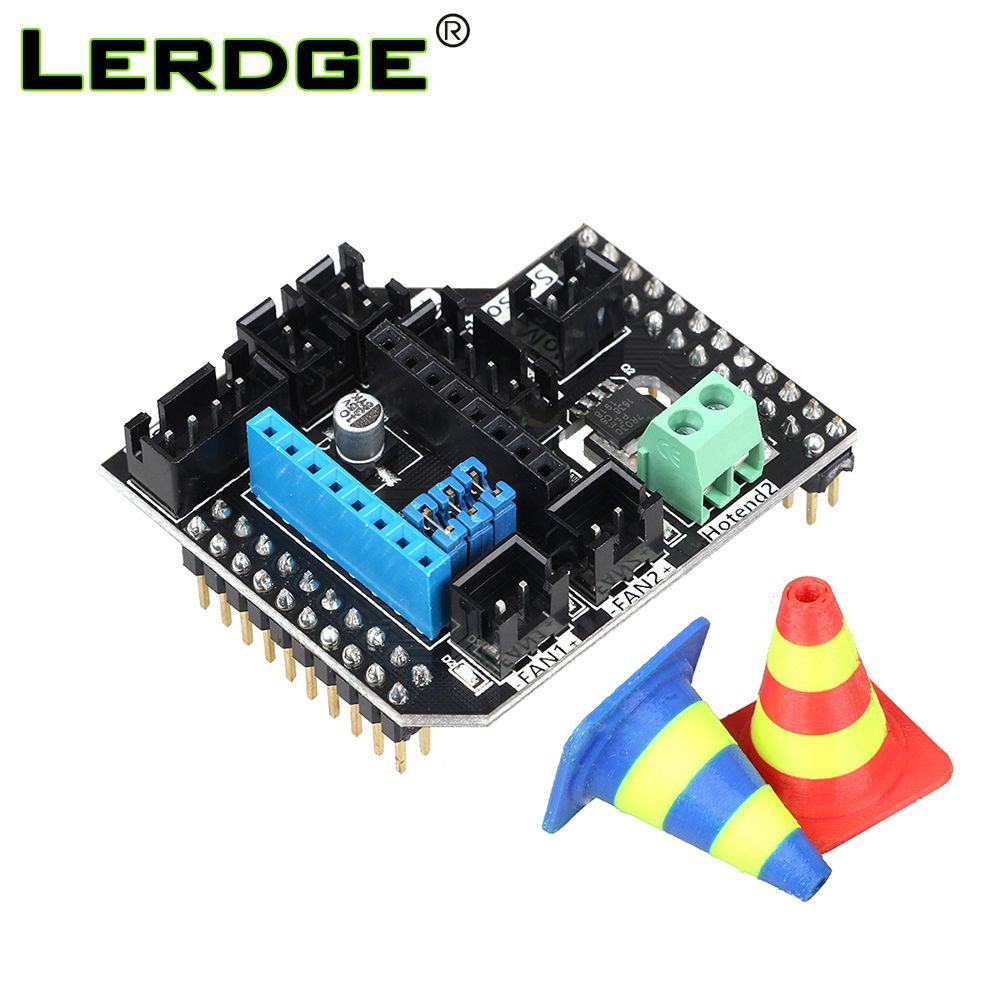 3D Printer Parts LERDGE Board Dual Extruder Module Double Extrusion Printhead Expansion Module 2 in1Out 2 in2 Out Hotend Module  #Affiliate