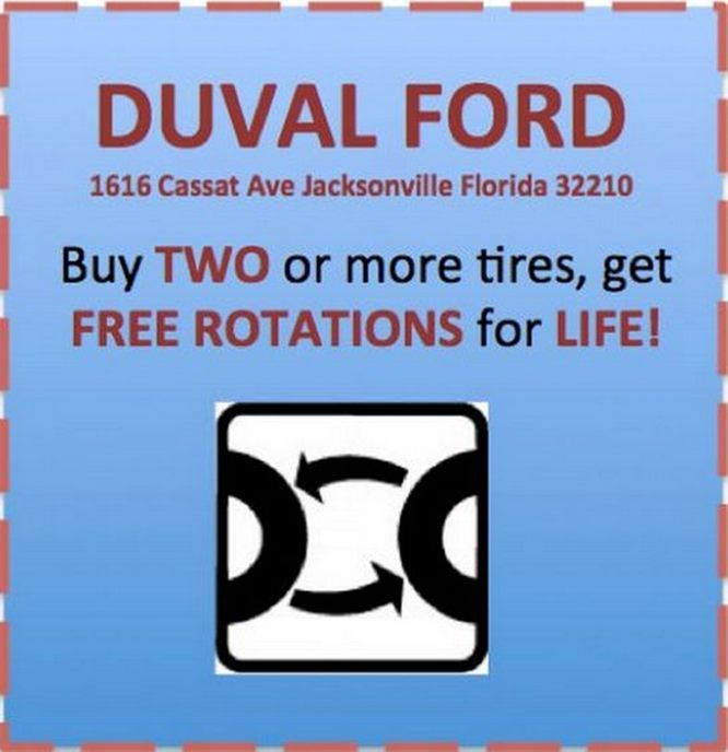 Duval Ford Automotive Service Coupons Ford
