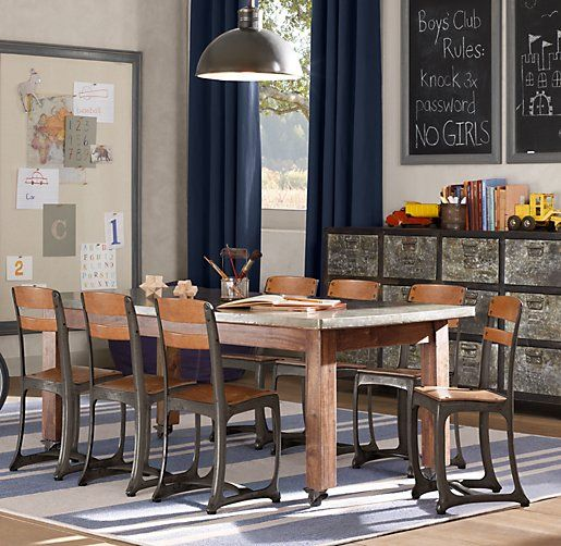 Delicieux Vintage Schoolhouse Large Play Table | Play Tables U0026 Chairs | Restoration  Hardware Baby U0026 Child