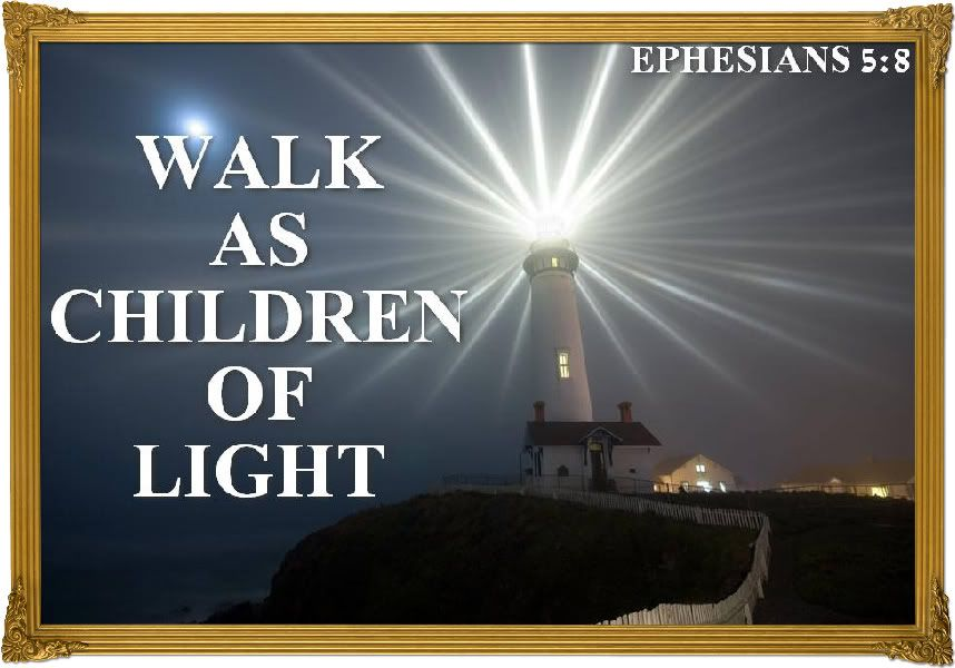 Image result for You are a child of the Light