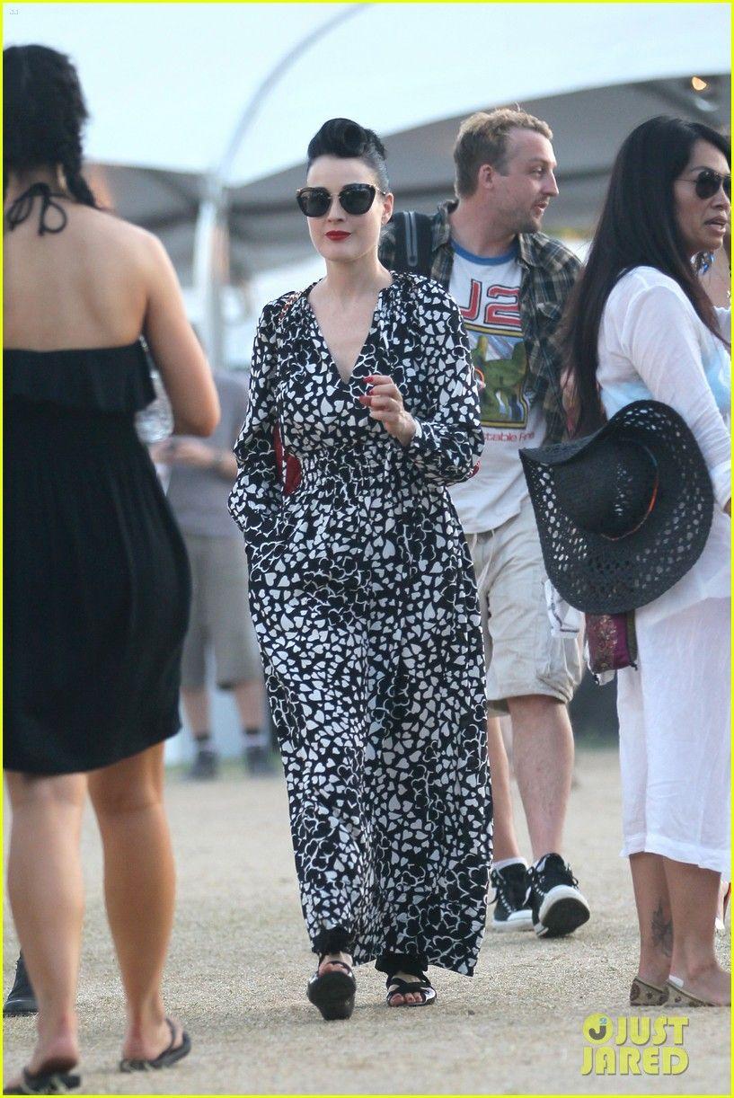818e9ee4e58e Dita Von Teese s Best Outfits at Coachella