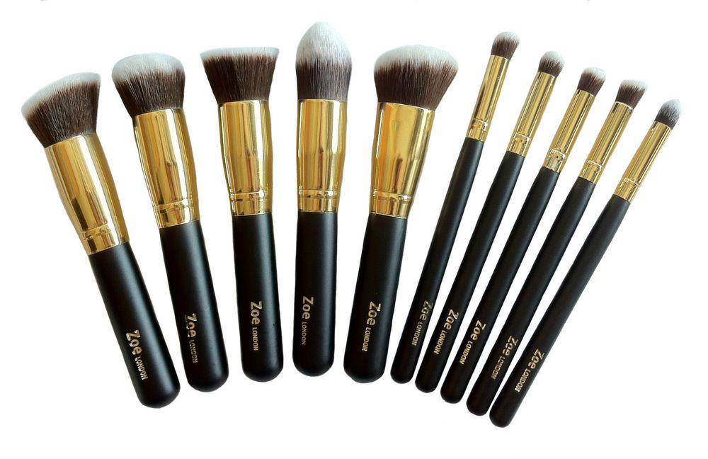 Details about Zoe Foundation Powder Makeup Kabuki Brushes