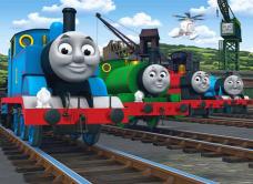 Fotomural Thomas y sus amigos  habitacion peques  Pinterest