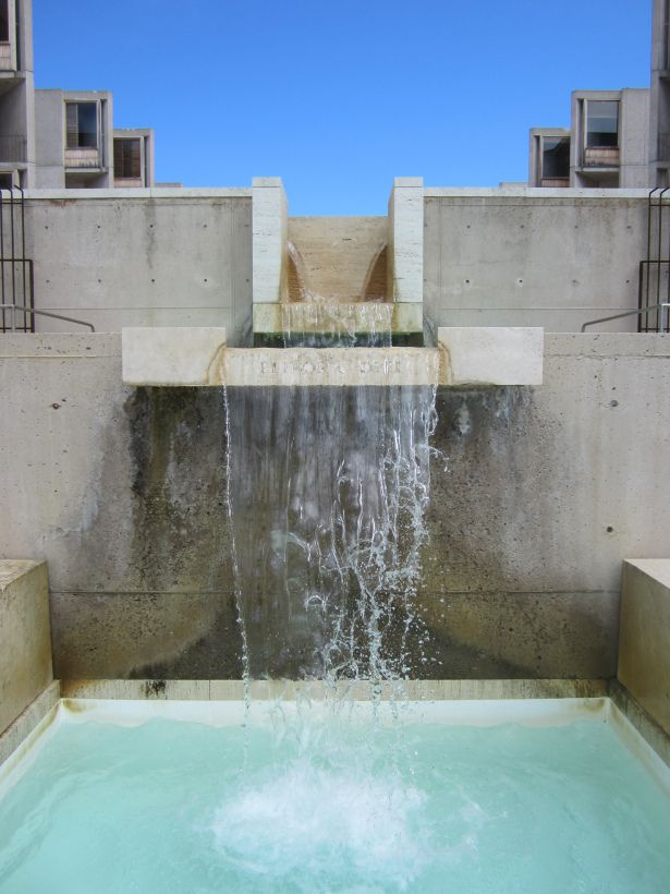 Salk Institute, Architect Louis Kahn, La Jolla, California