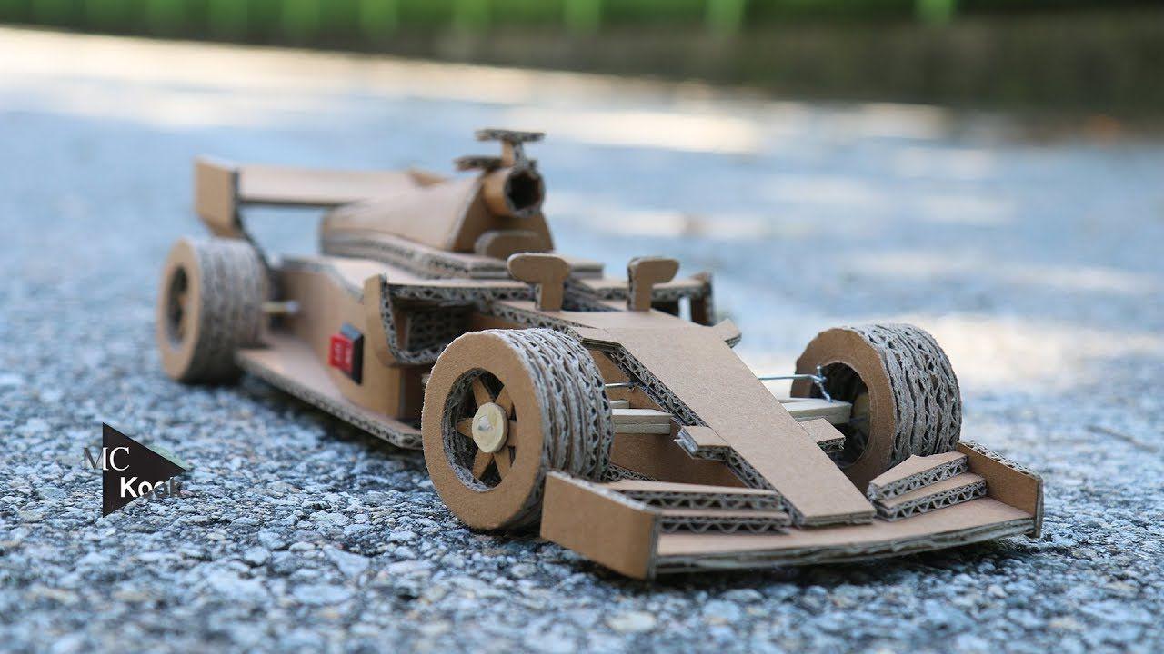 How To Make Amazing Rc Car Ferrari F1 Cardboard Toy Diy With