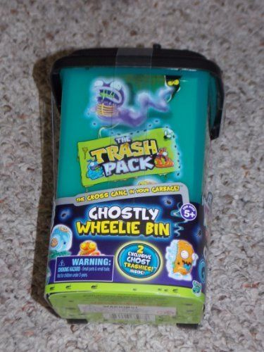 The Trash Pack Mystery With Gross Ghosts Unboxing Kinder Playtime You