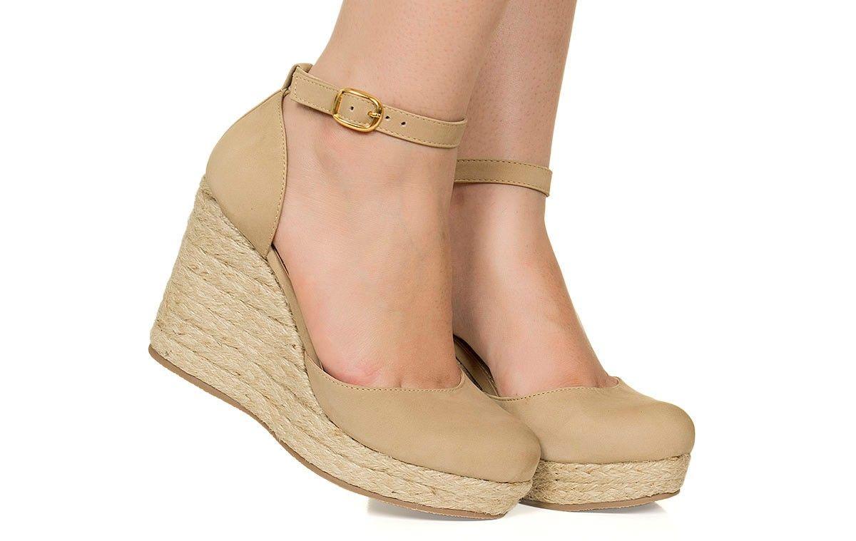 d2052faa4b Espadrille nude Taquilla - Taquilla - Loja online de sapatos femininos