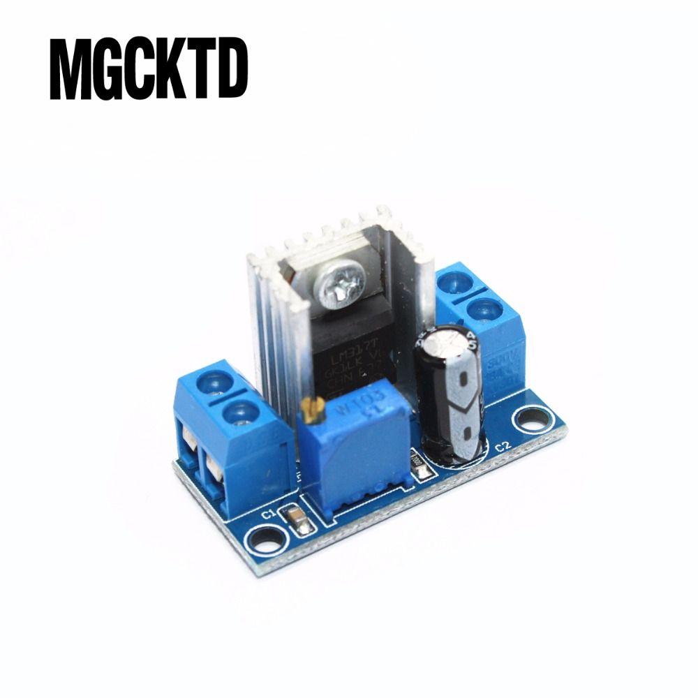 Lm317 Dc Converter Buck Step Down Circuit Board Module Linear Adjustable Power Supply Regulator Voltage