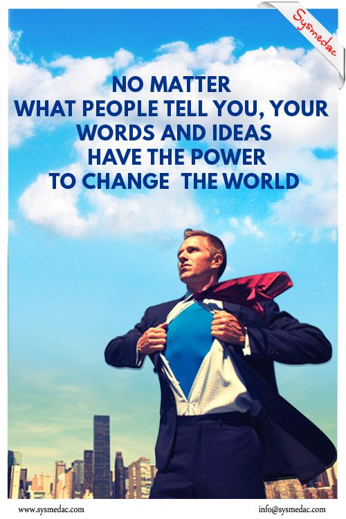 Your #Ideas & #Words got massive #Power #Inspirational #Quotes from #Sysmedac #Technologies www.sysmedac.com