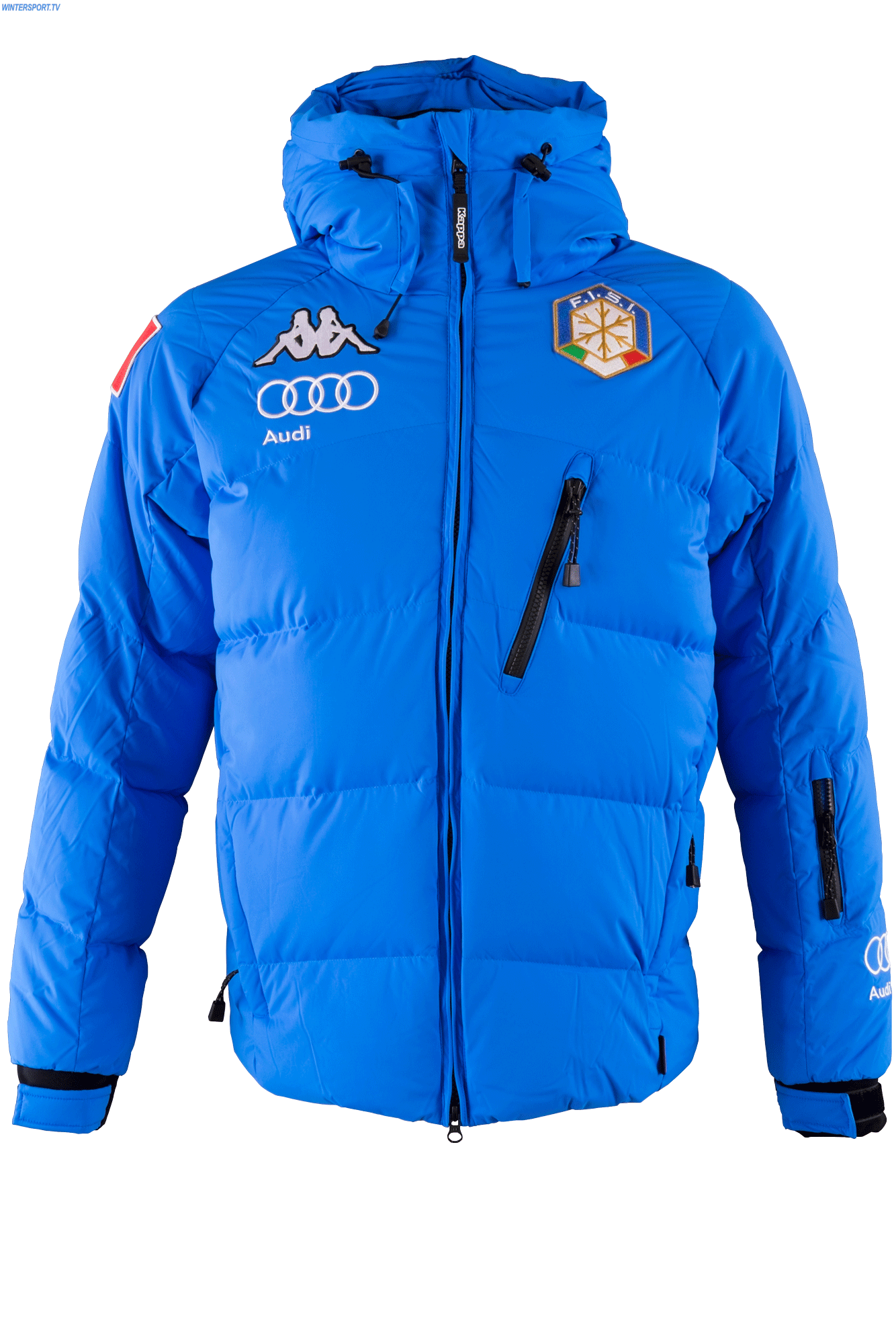 official photos 27027 f5e0b Kappa Men Italian Alpine Team FIS Down Jacket - Azzurro ...
