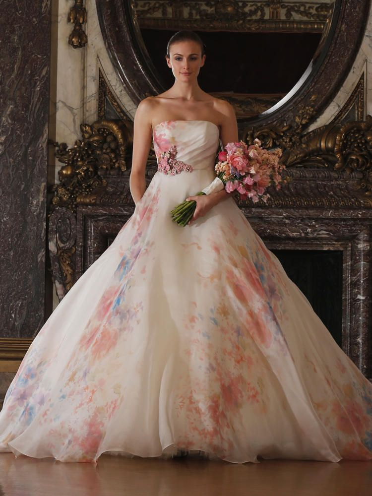 Romona Keveza\'s Luxe Bridal Collection Included a Wedding Dress With ...