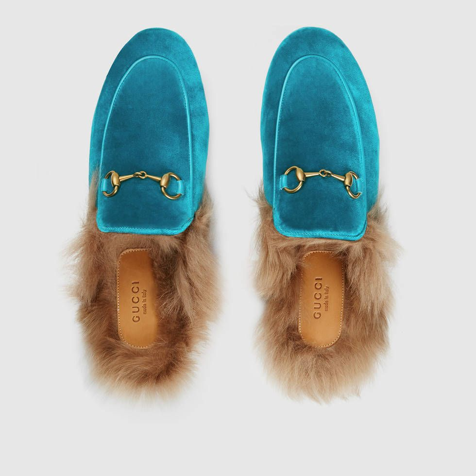Gucci Princetown velvet slippers   FLATS   BALLERINAS   Pinterest ... 248011cf7f1