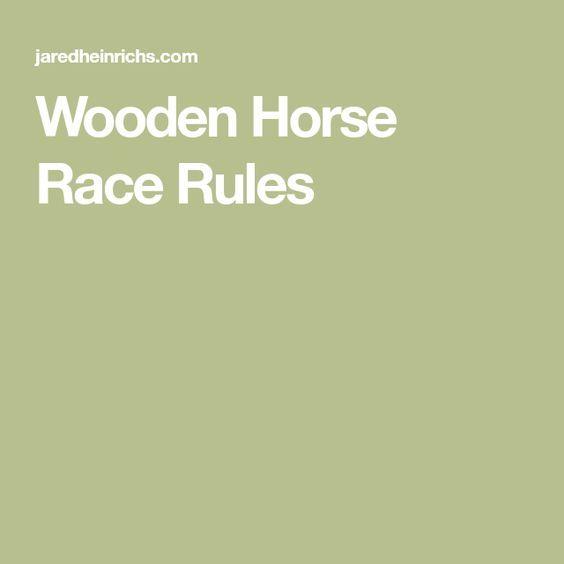 Horse Board Game Rules