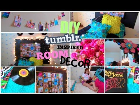 ♡DIY Tumblr Inspired Room Decor For Teens♡| Cute And Cheap! |  CartneyBreanne   YouTube | Diy Ideas For My Room | Pinterest | Room Decor,  Teen And Youtube