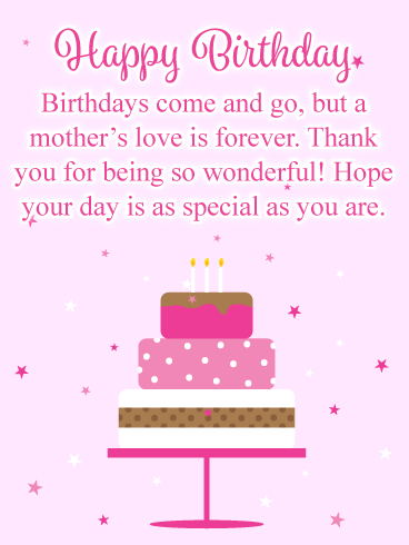 Marvelous This Amazing Greeting Card Will Give Your Mother The T Of Joy Personalised Birthday Cards Paralily Jamesorg