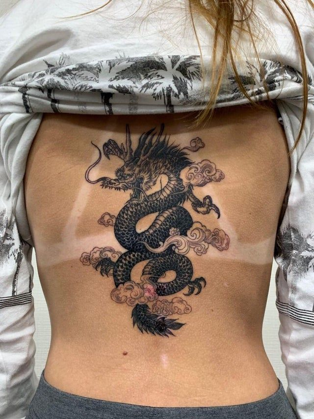 Dragon Tattoo by Zigm at Classic Ink in Iwakuni, Japan