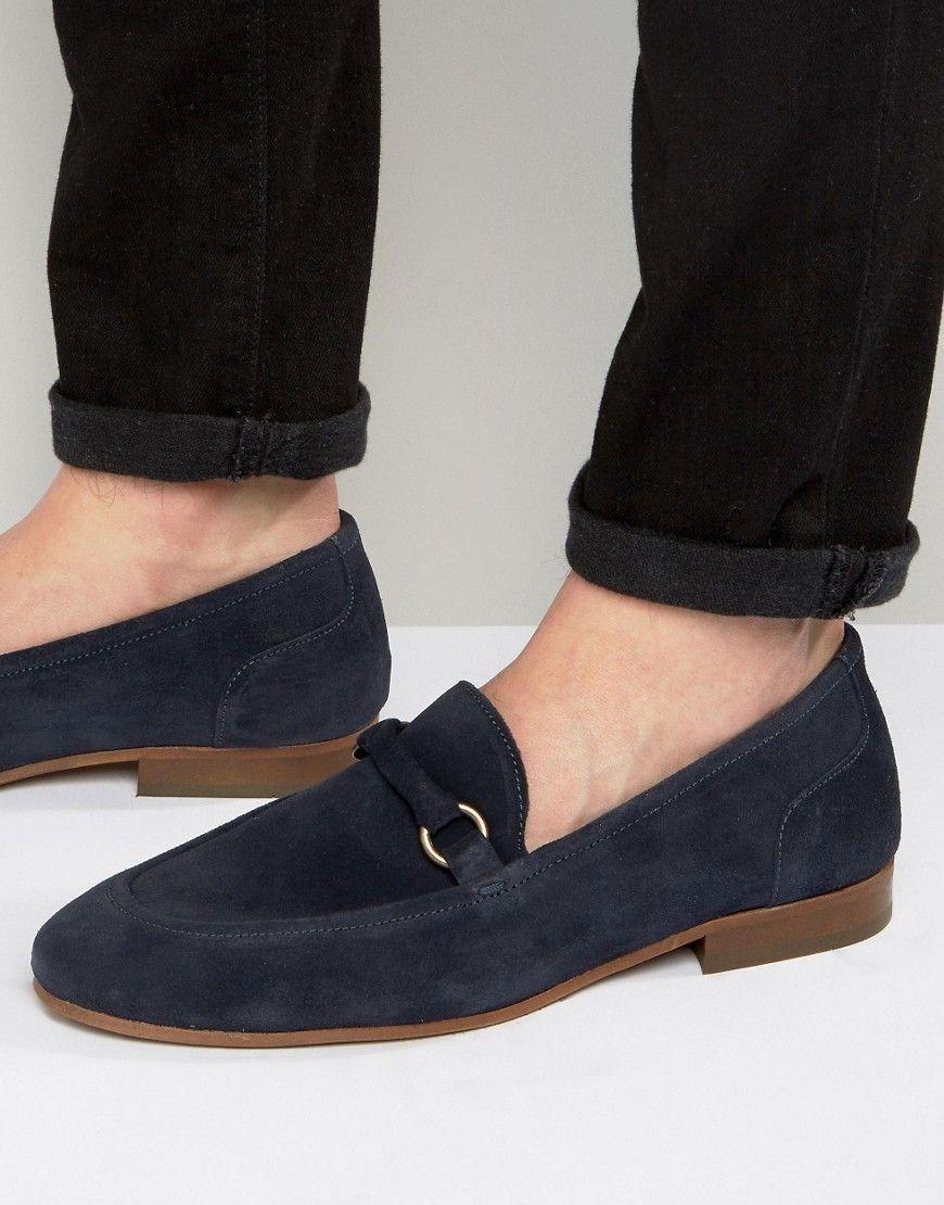 Zapatos negros casual Hudson para hombre OthKh
